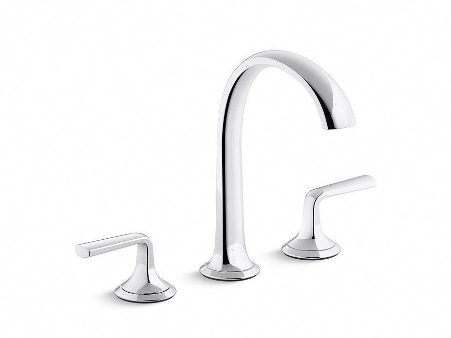 Script Sink Faucet Arch Spout Lever Handles P25007 Lv Sink Faucets Bathroom Faucets Kallista Bathroom Faucets Sink Faucets Bathroom Renovation Cost