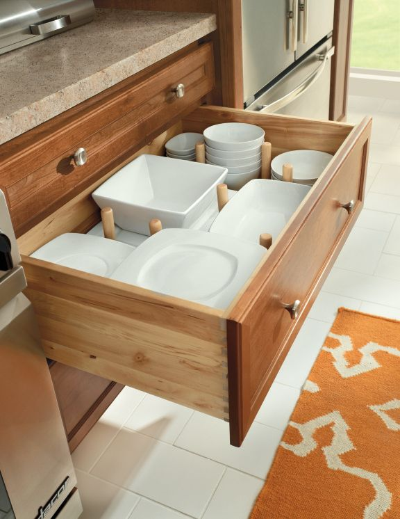 Best A Pegged Drawer From Homecrest Keeps All Your China In 400 x 300