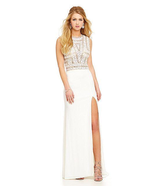 Savannah Nights Stone-Encrusted Shirt Bodice Gown | My Style ...