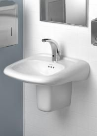 Pedestal Sinks And Vanities Can Keep Wheelchair Users At Bay. Wall Hung  Basins Are