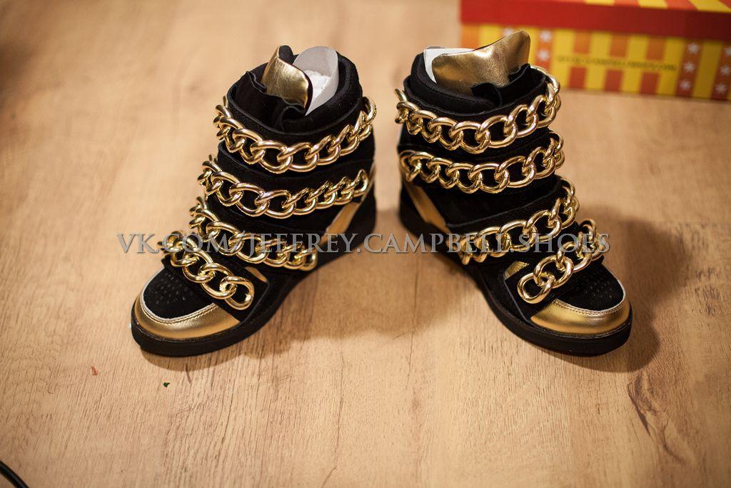 Кроссовки Jeffrey Campbell с цепями. | Кроссовки, Обувь, Цепь