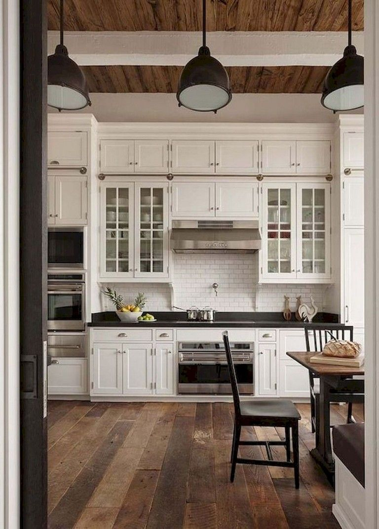 Farmhouse Country Kitchen Designs: 43+ Amazing Farmhouse Country Kitchen Decor Ideas