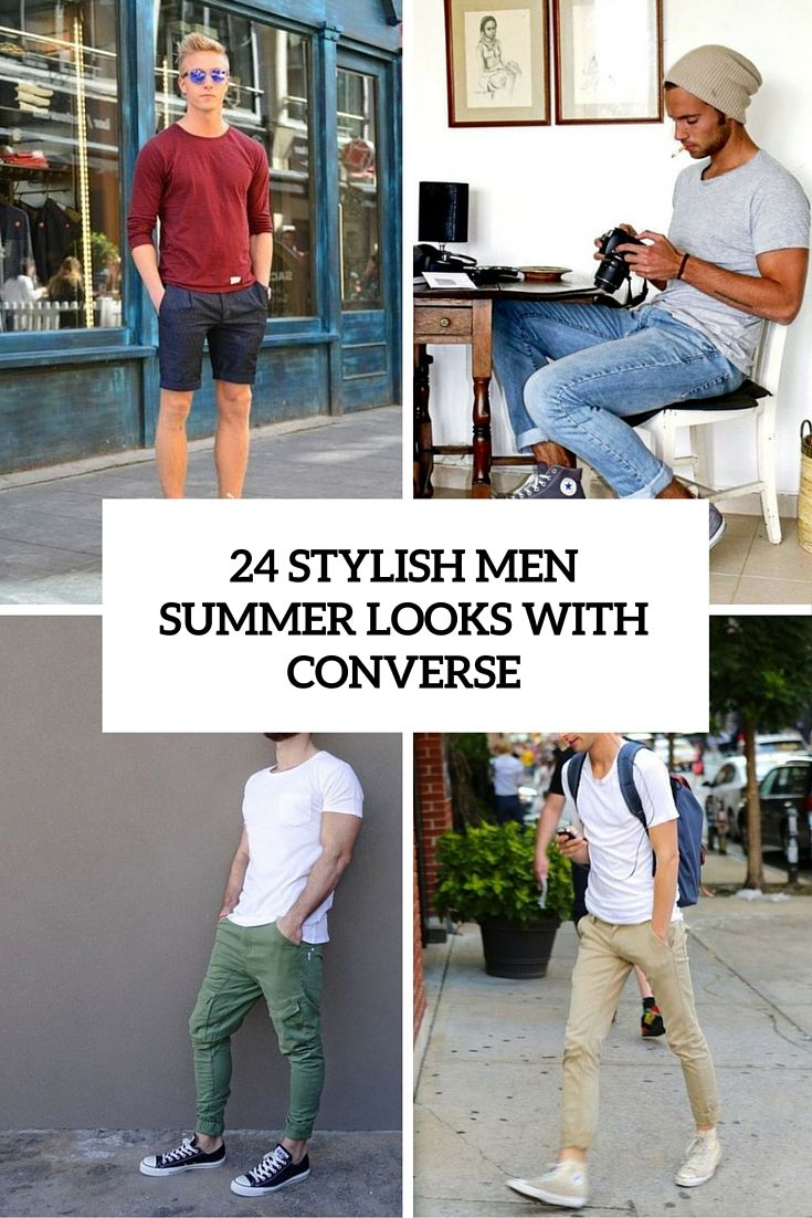 24 Edgy Men Summer Outfits With Vans Sneakers recommend