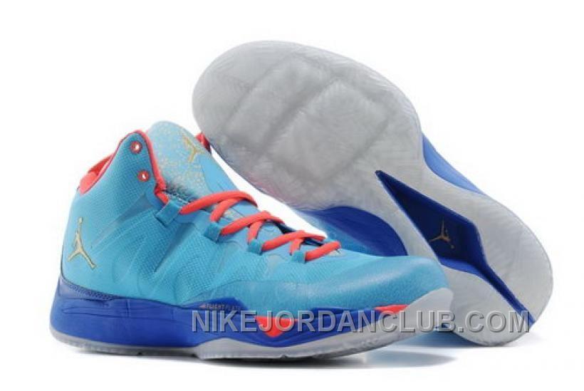 new styles e5f90 e0e90 air jordan super fly sky blue orange http www.nikejordanclub.com france-nike -air-jordan-super- ...
