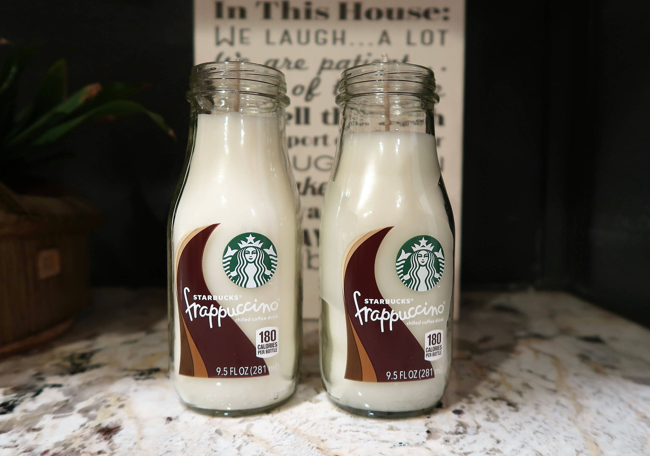 Starbucks Frappuccino White Soy Candle Mocha Coffee Scented