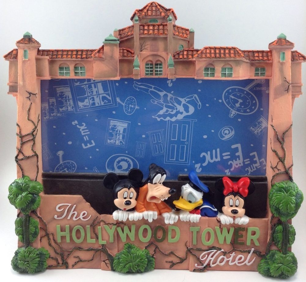 The Hollywood Tower Hotel Picture Frame Photo Mickey Mouse Of Terror ...