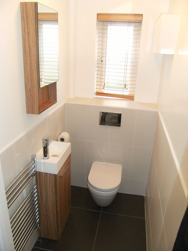 Cloakroom ideas on pinterest downstairs cloakroom for Ideas for a small toilet