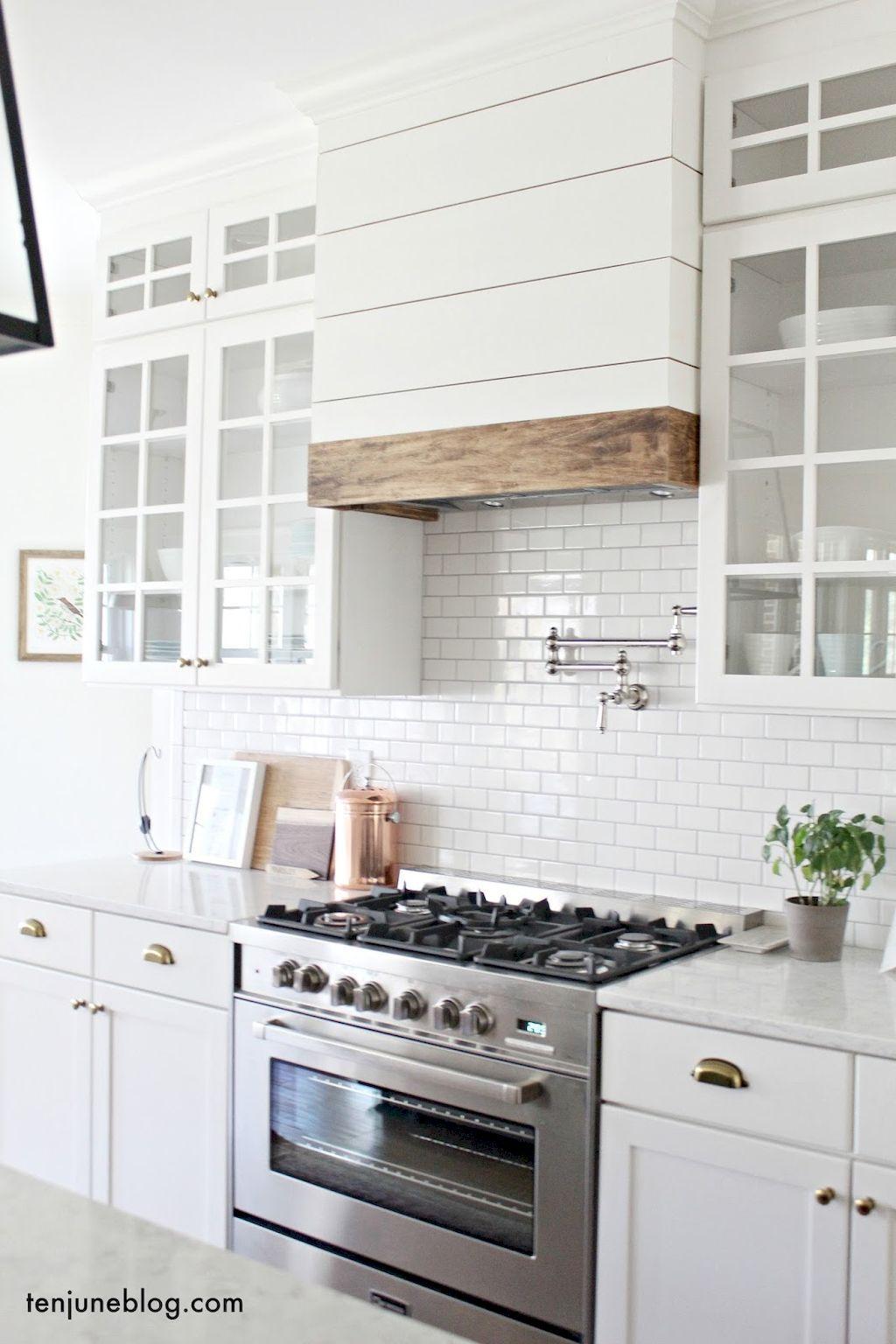 Nice 40 Rustic Modern Farmhouse Kitchen Design Ideas https