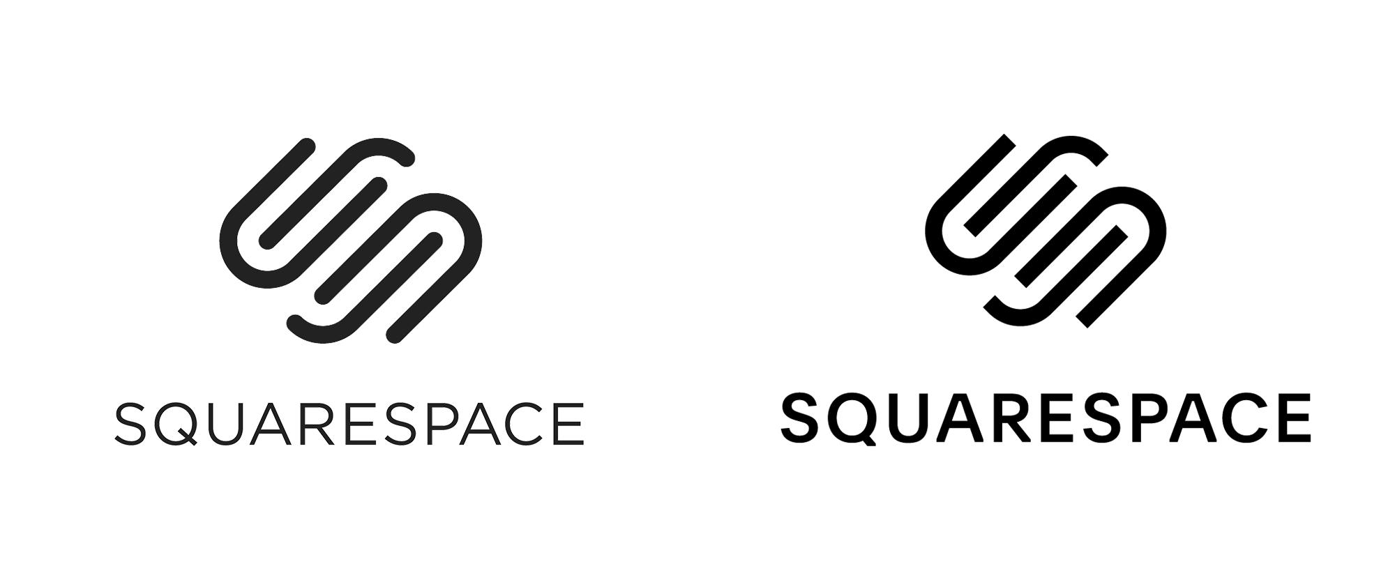 New Logo And Identity For Squarespace By Dia Identity Logo Logos Logo Branding
