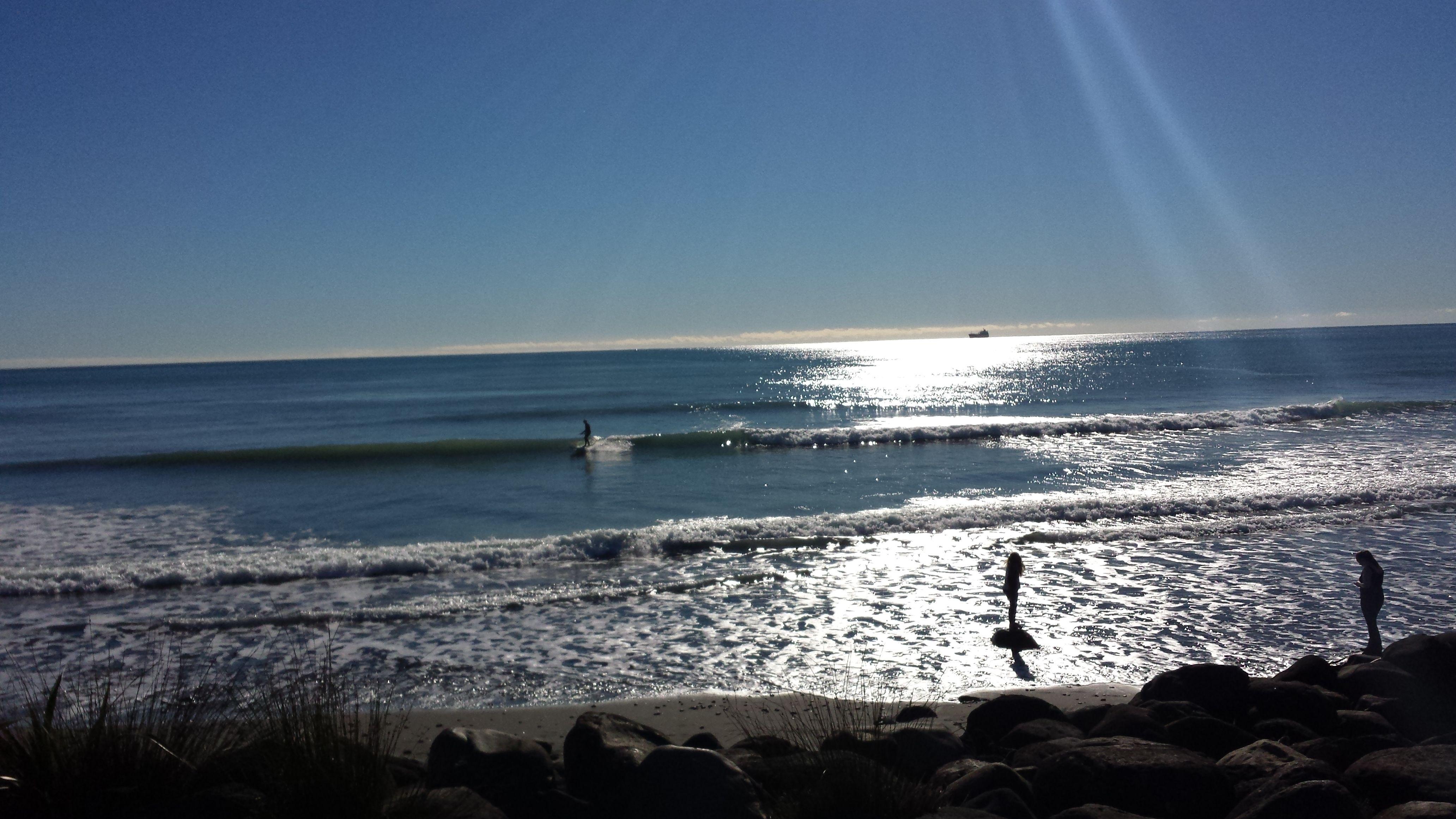 Fitzroy Beach, early winter