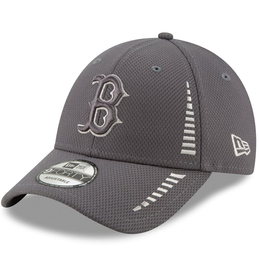 New Era Boston Red Sox 9forty Adjustable Trucker Cap Black Washed