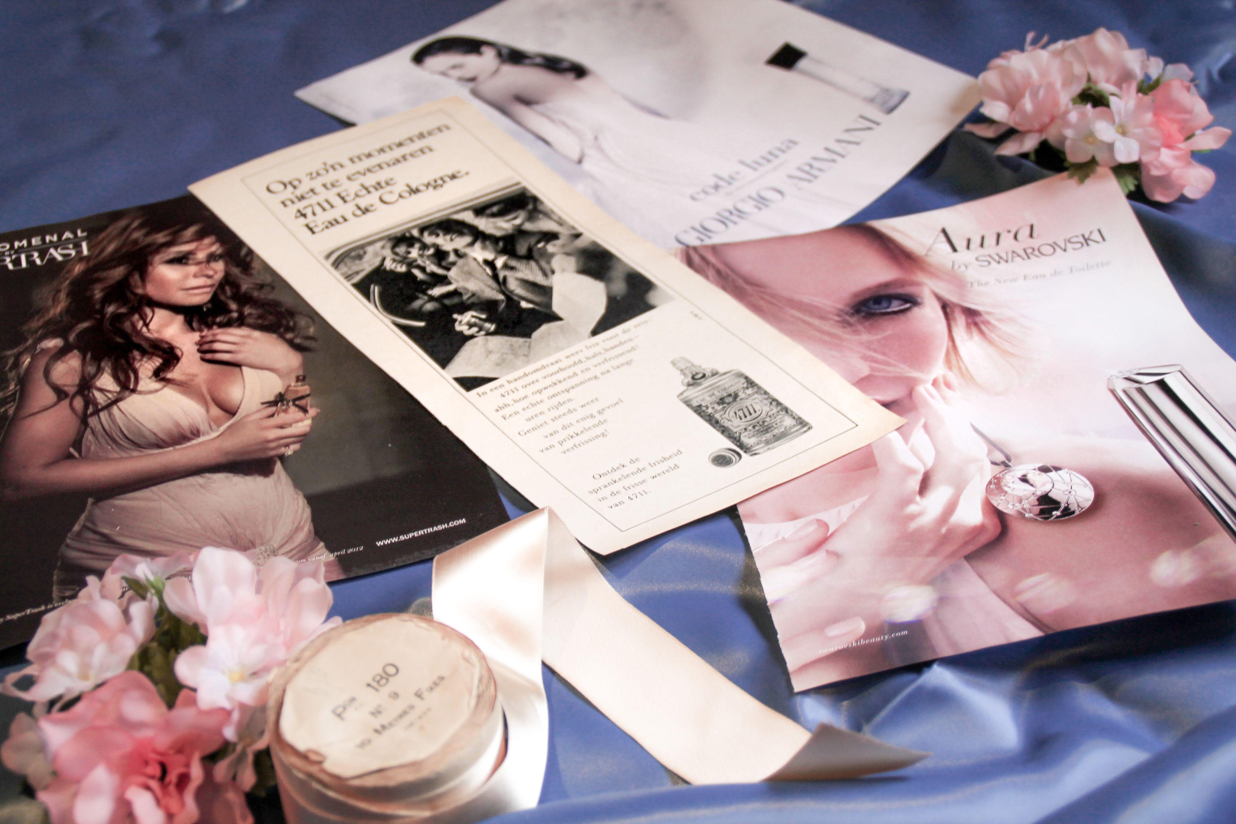 Concept 2: reclame vroeger en nu - parfum