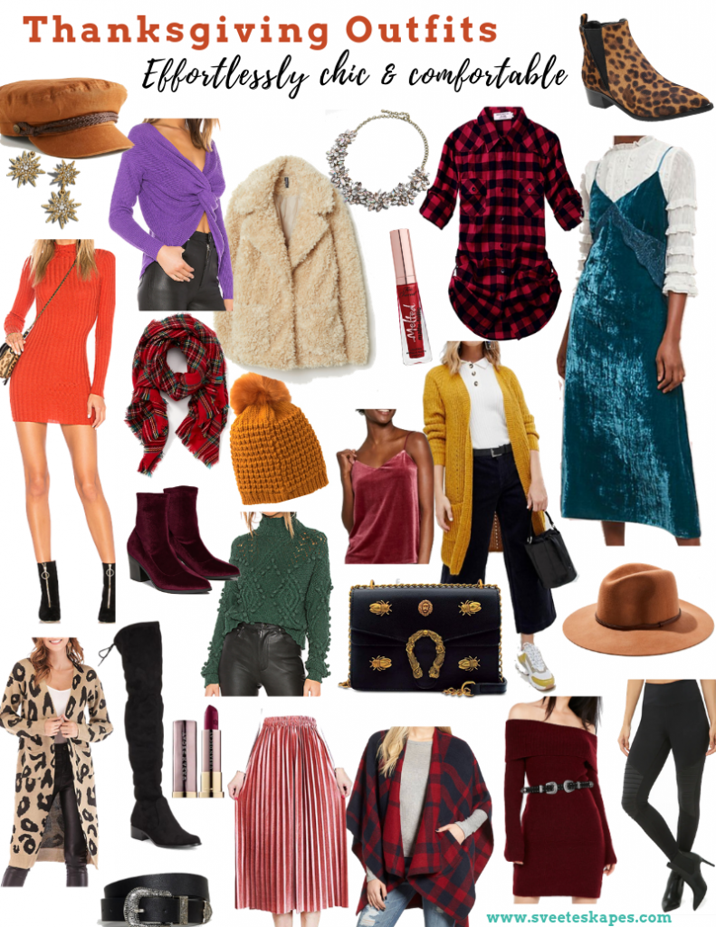 Your Ultimate Guide To Dressing For Thanksgiving & Friendsgiving | Outfit Ideas - Sveeteskapes