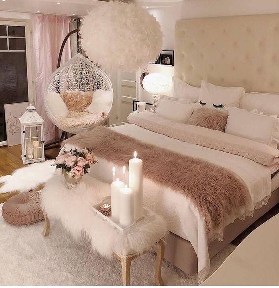 Schlafzimmer Design für Mädchen im Teenageralter # Schlafzimmer Design # Teenageralter #v … #teenagegirlbedrooms