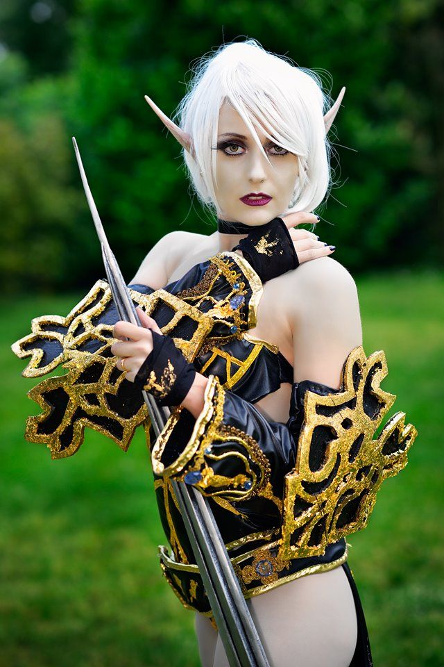 Dark Elf Lineage Ii By Pamelacolnaghi On Deviantart Cosplay
