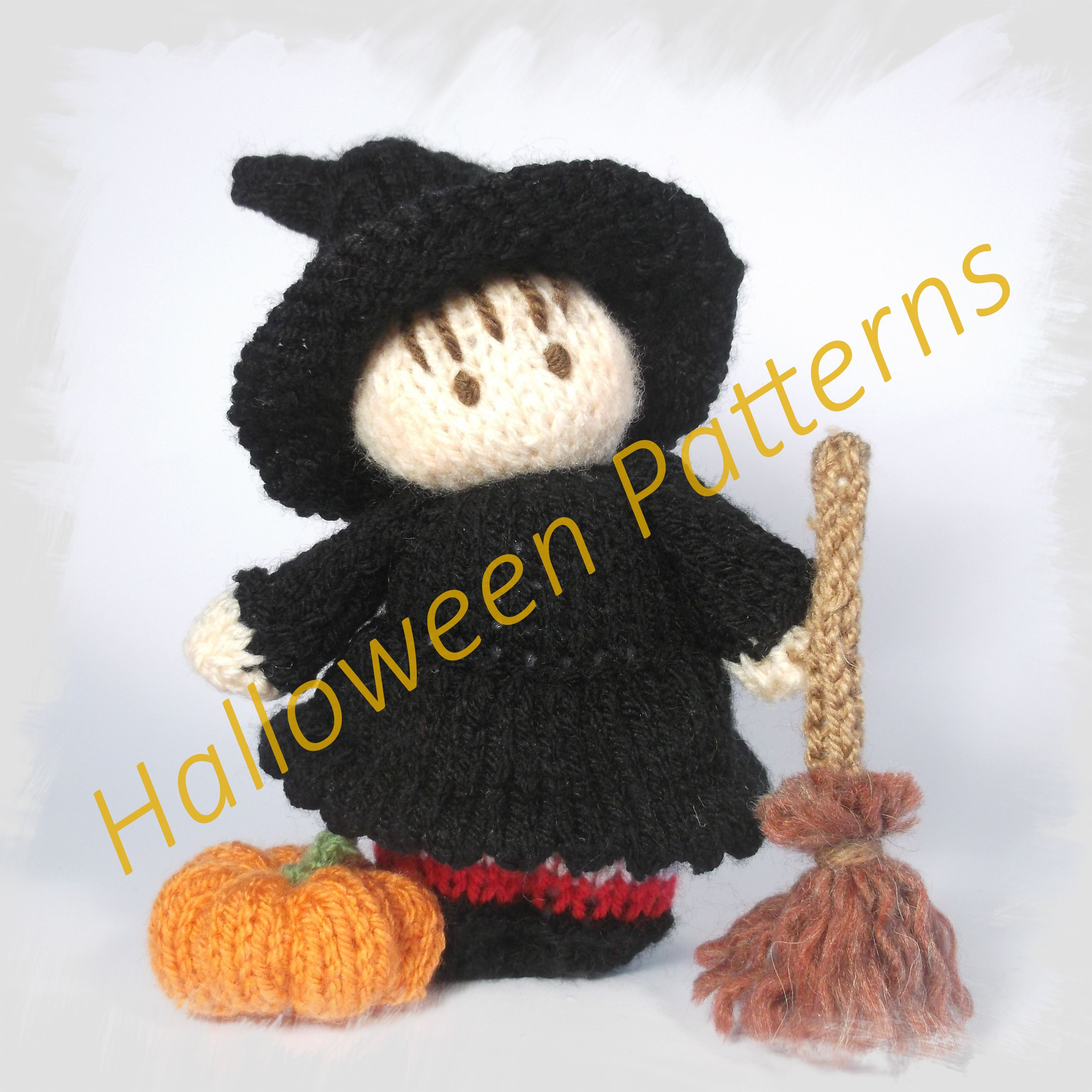 Halloween knitting pattern Collection | Halloween dolls and gifts ...