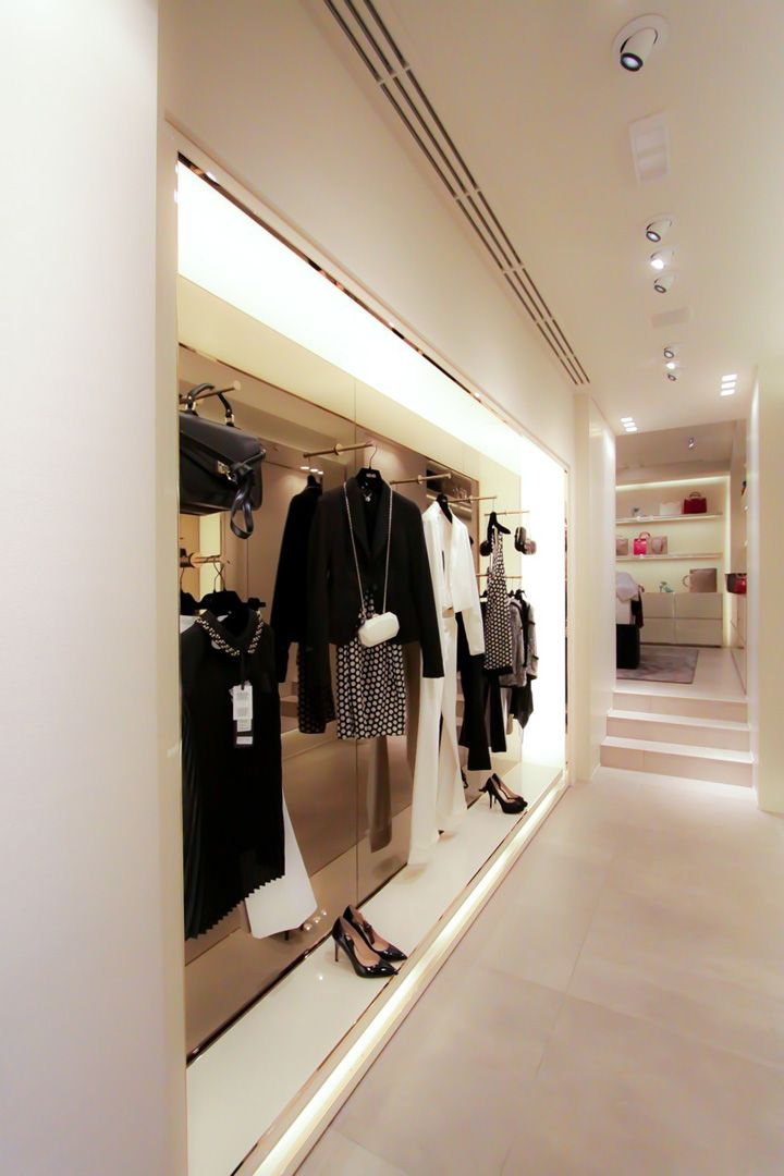 LIU•JO store by Christopher Goldman Ward, Reggio Emilia Italy store ...