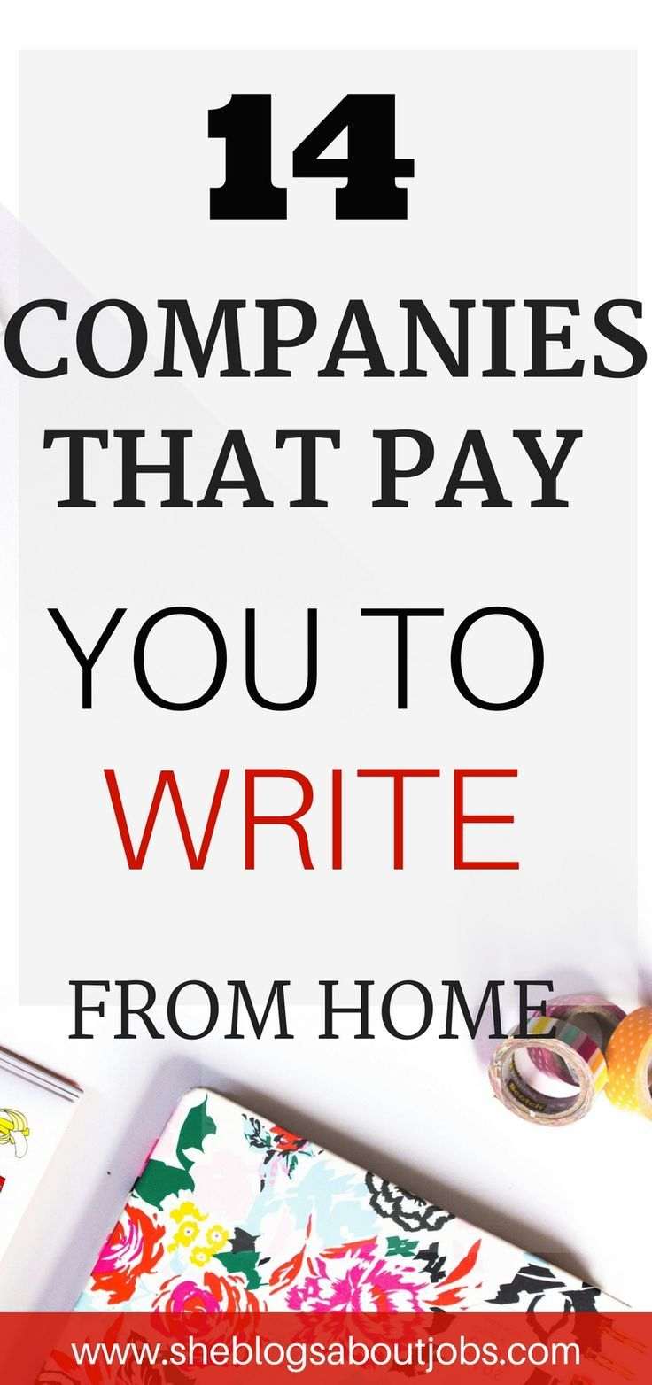 Make Money From Home As An Online Writer Writing jobs
