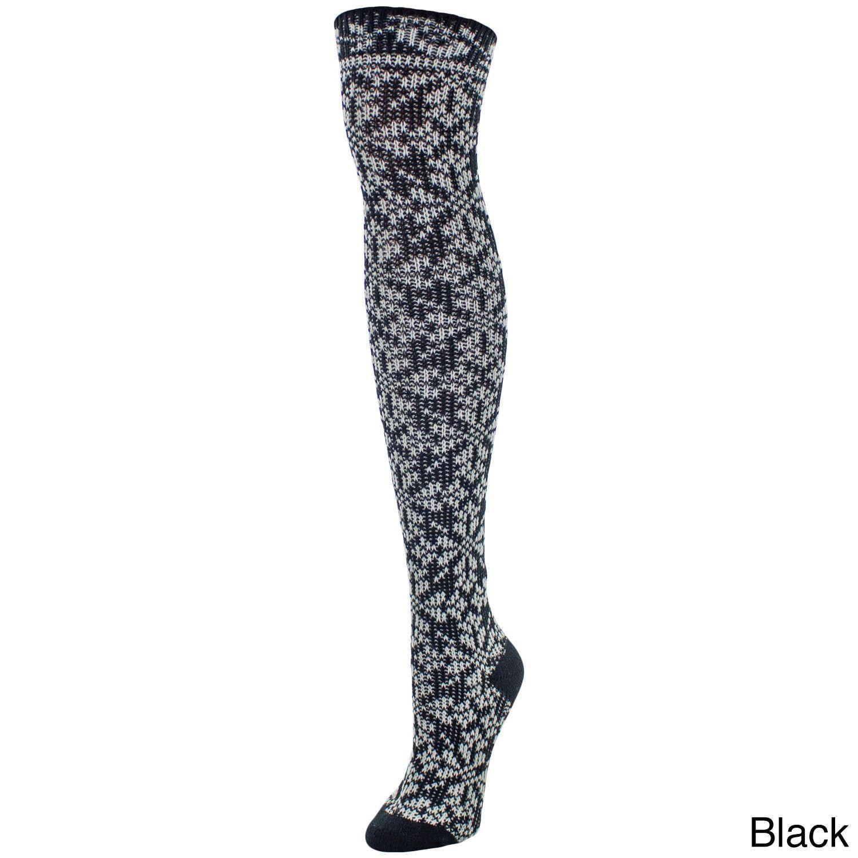 MeMoi Women's Brussels Over-the-knee Socks