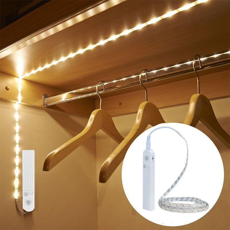 Led Night Lights 10 Led Night Light Wireless Pir Infrared Motion Detector Sensor Kitchen Closet Cabinet Bar Light Battery Power Nightlight Colours Are Striking Led Lamps