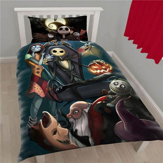 The Nightmare Before Christmas Bedding Set 01 Nightmare Before Christmas Bedding Nightmare Before Christmas Decorations Christmas Bedding