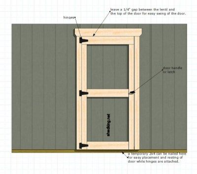 Shed Doors Easy Ways To Build Your Shed Doors Playhouse Door Home  Improvement Shop Our Selection Of Double Door See More About Double Or  Single Doors