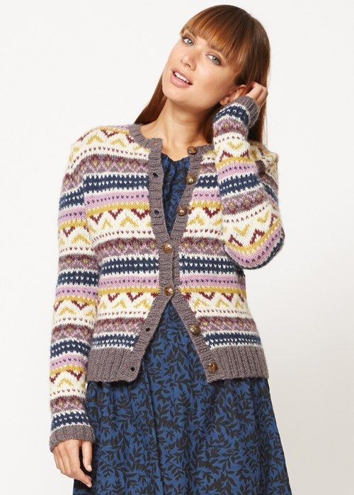 People Tree | Fairisle Cardigan | Eco fashion is cool | Pinterest ...