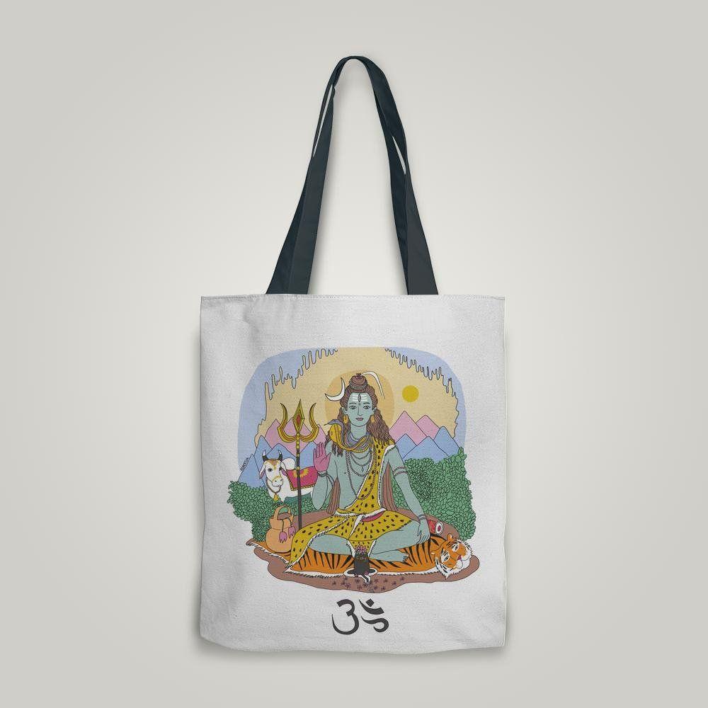 TRÁFICO | Tote Bags | Shiva #shiva #totebag #soytrafico #robertita #hinduismo #yoga Comprar aca: http://soytrafico.com/shop/para-vos/tote-bags/18281-shiva-2/#caras=1