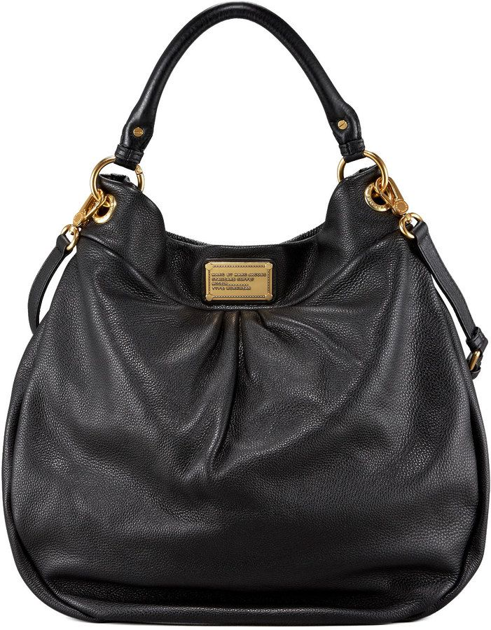 499559239b Marc by Marc Jacobs Classic Q Hillier Hobo, Black on shopstyle.com ...