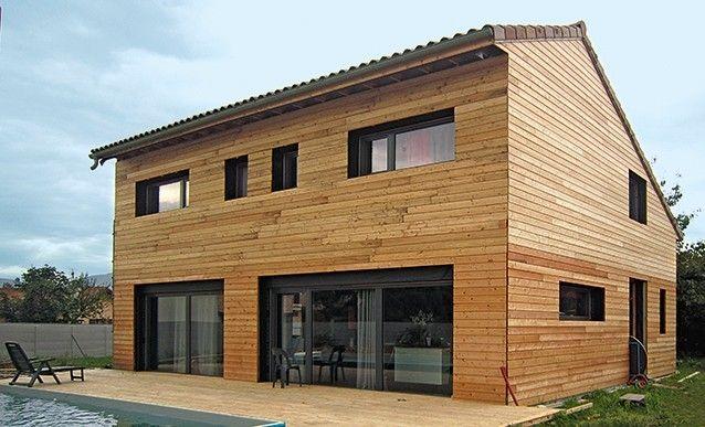 Construire une maison écologique en bois Construction