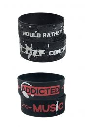 I would Rather + Addicted to Music Bracelet Package