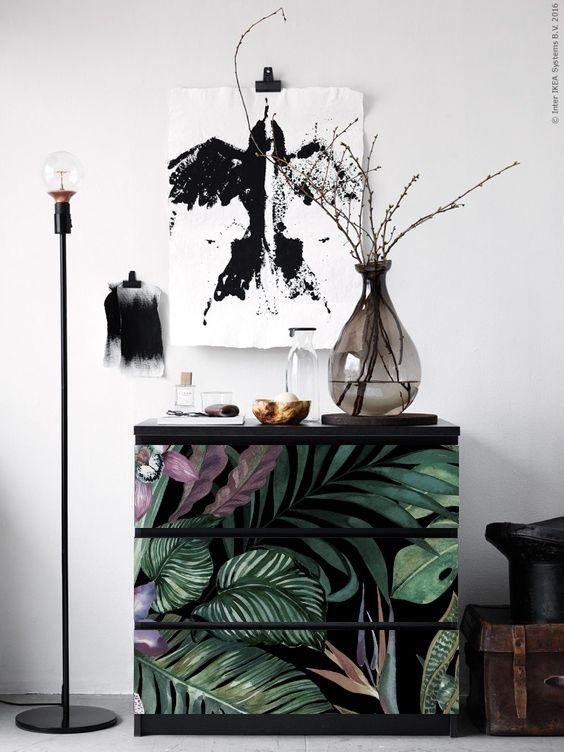 123kea Sticker For Ikea Malm Drawer Malm Dresser Diy