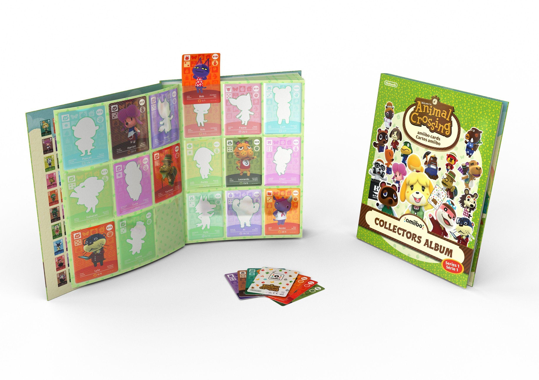 Màj] Un album collector pour les cartes amiibo Animal Crossing en ...