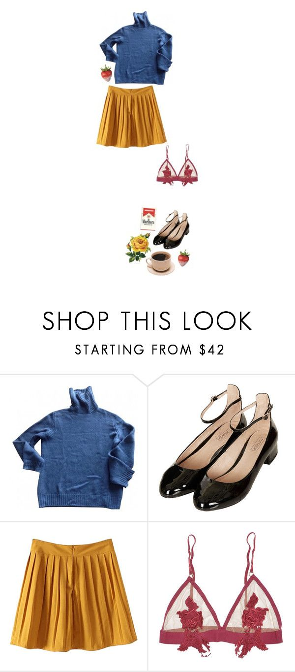 """""""oh"""" by coolbeanschic ❤ liked on Polyvore featuring Louis Vuitton, Topshop and For Love & Lemons"""