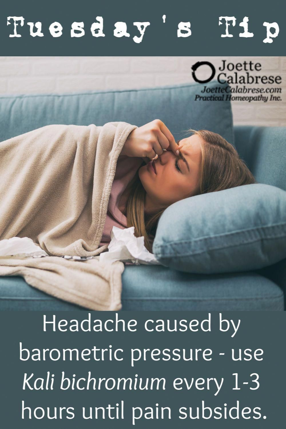 Tuesday's Tip in 2020 Homeopathy medicine, Headache