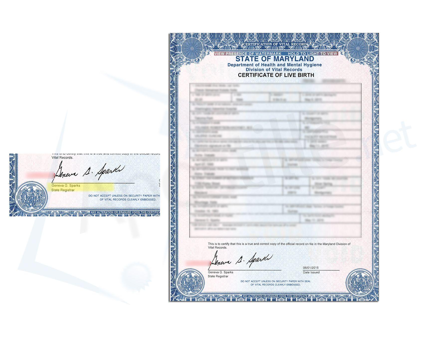 County of montgomery state of maryland birth certificate issued by county of montgomery state of maryland birth certificate issued by geneva s sparls state registrar xflitez Gallery