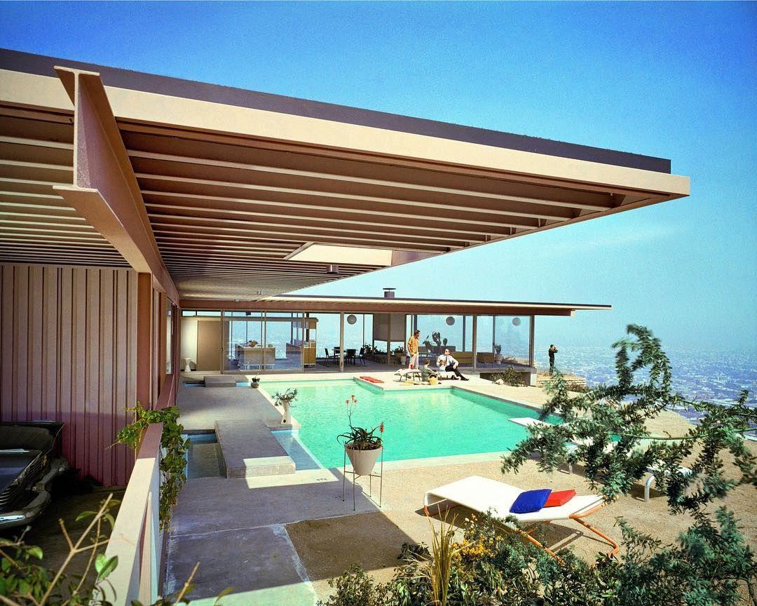 Los Angeles classic. Stahl House (CSH 22), Pierre Koenig