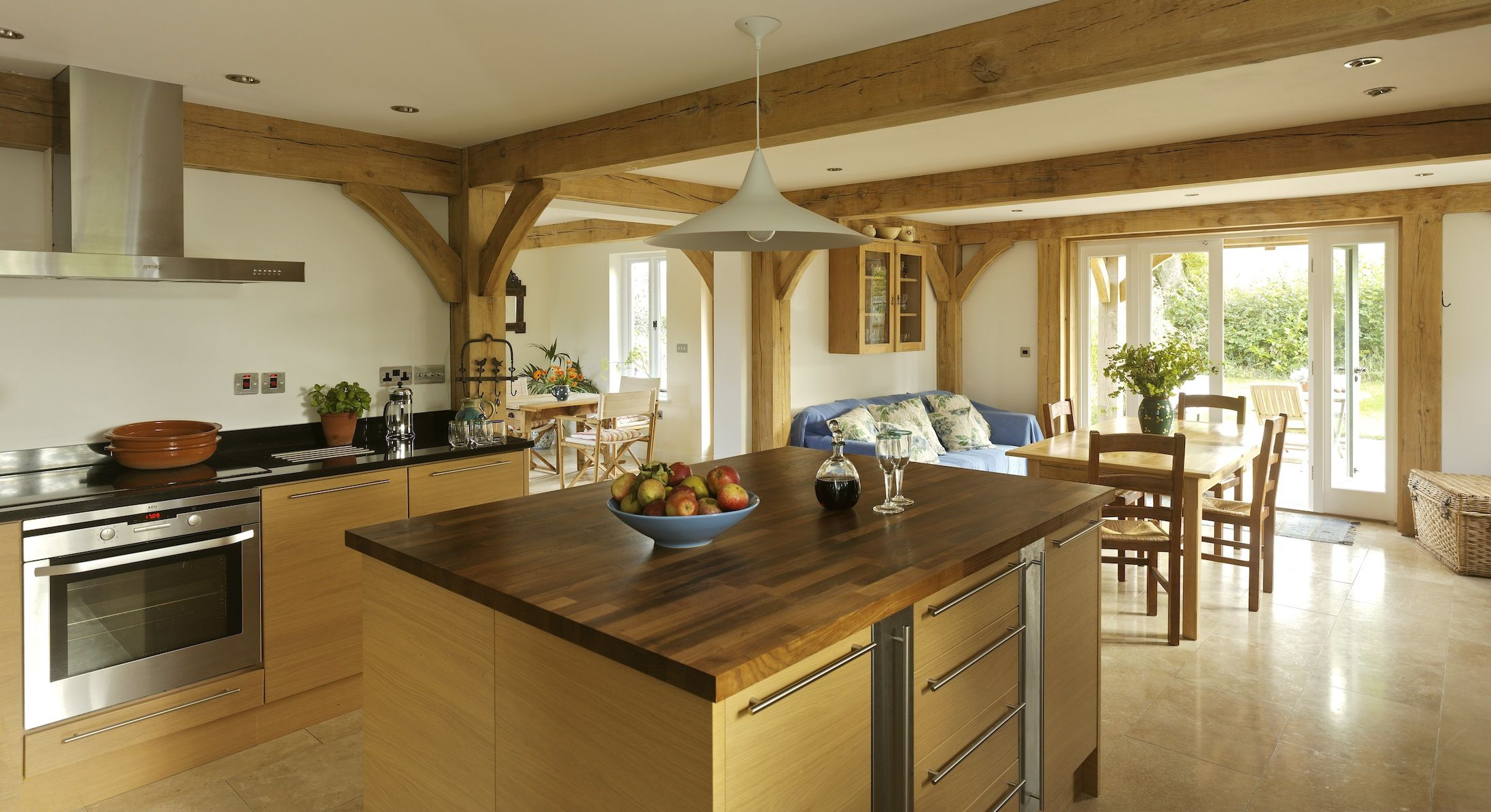 Border Oak Kitchen Framing Country Kitchen Diner Kitchen Design Decor Country Style Kitchen