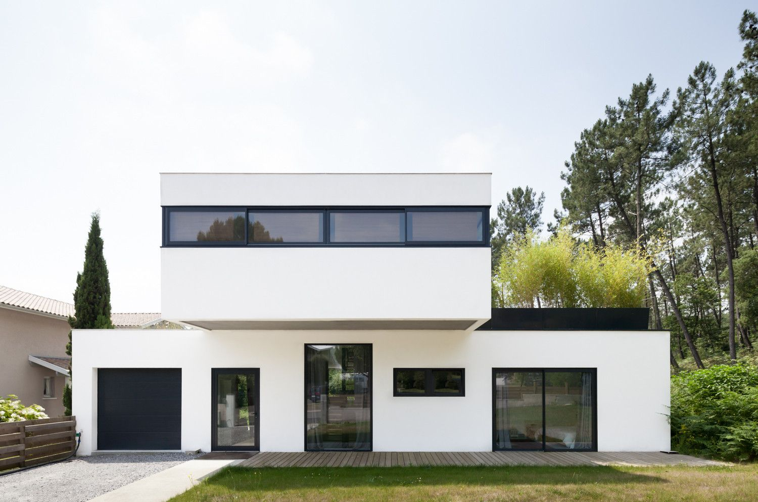 Built by debarre duplantiers associés architecture paysage in seignosse france with date 2013