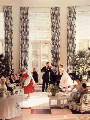 an ode to dorothy draper vintage retro kitsch pinterest southern living interior. Black Bedroom Furniture Sets. Home Design Ideas