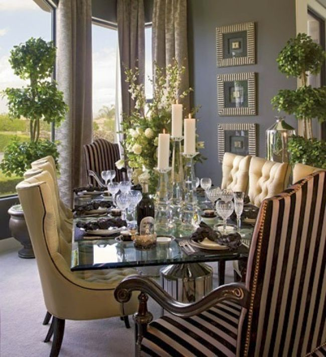 Just fabulous dining room! Dining rooms Pinterest Room, Dining