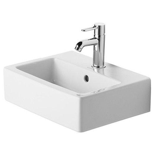 Vero Wall Mounted Square Handrinse Basin Ceramic Bathroom Sink Wall Mounted Bathroom Sinks