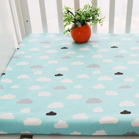 Fitted sheet 1pcs 100% cotton 130x70cm