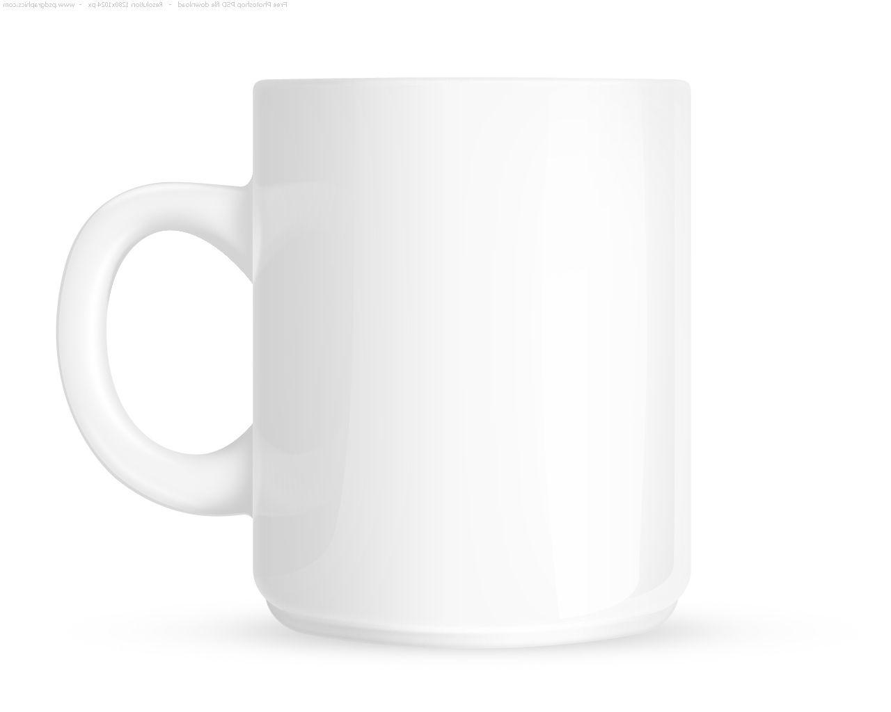 Blank White Coffee Mugs