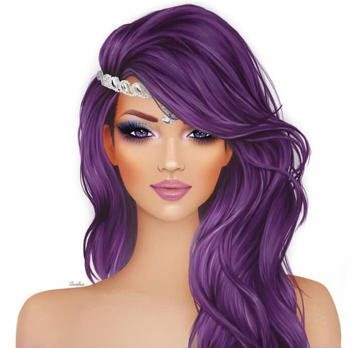 Es Una Hermosa Morena Art Pin Ups Cómics Pinterest Covet - Barbie hair style drawing