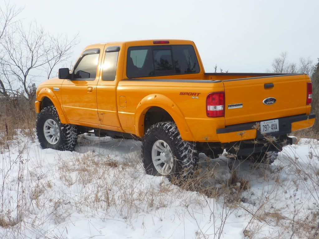 Checking in from canada ford ranger sport 4x4