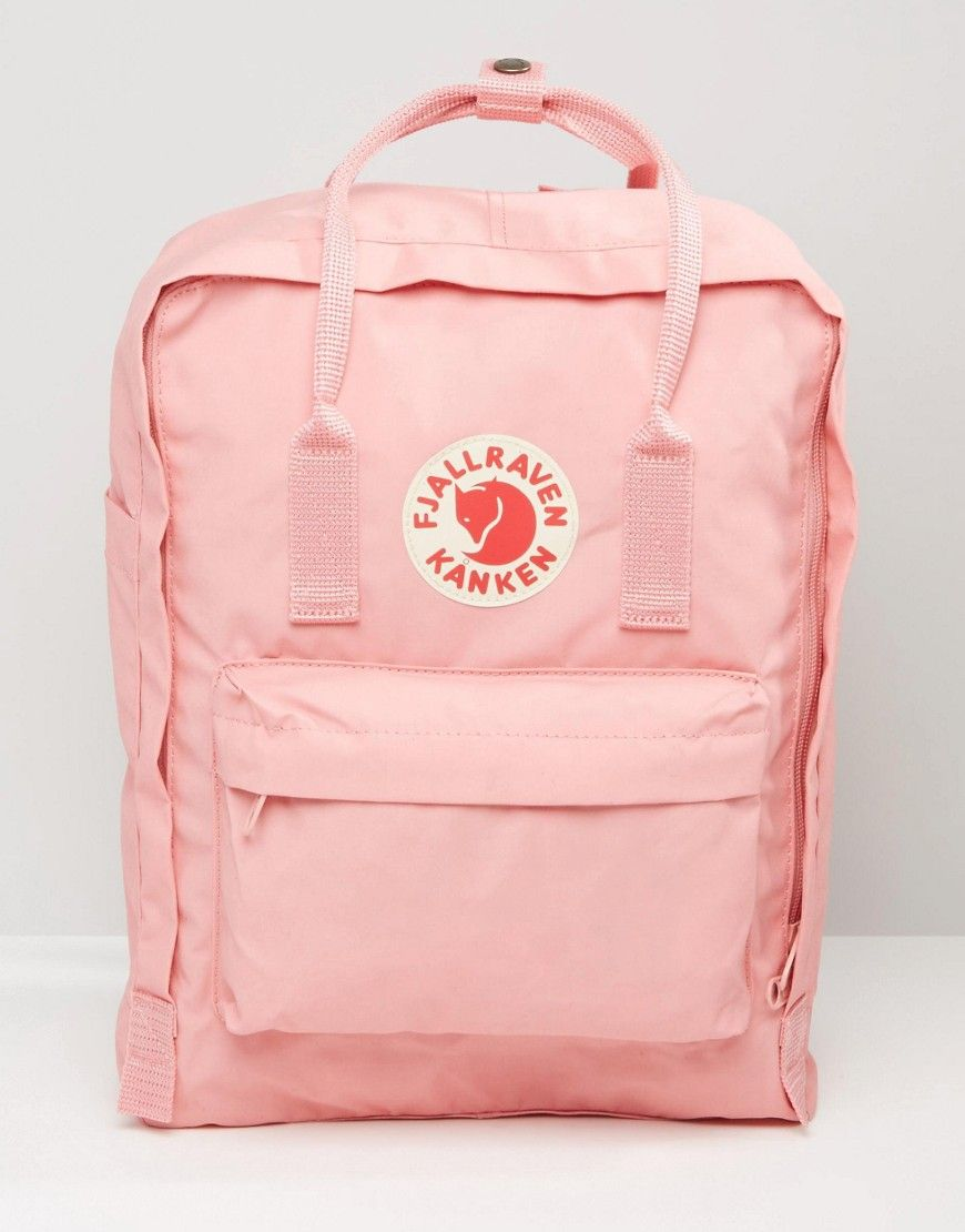 authentic quality quite nice best wholesaler Fjallraven Classic Kanken Backpack In Pastel Pink | Pink ...