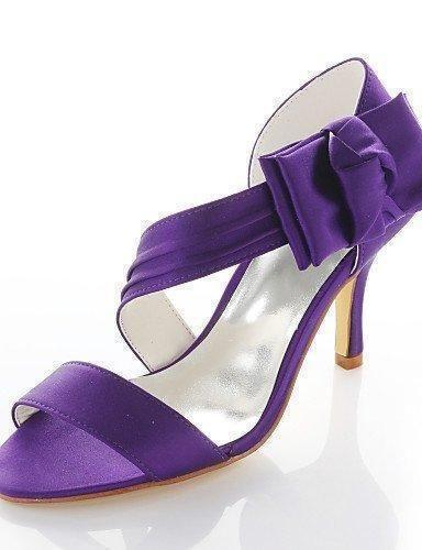 fca66043 Comprar Ofertas de syyner Mujer Zapatos de boda Tacones/Punta Redonda  Sandalias Boda/Fiesta y Noche/Vestido Morado Morado morado barato. ¡Mira  las ofertas!