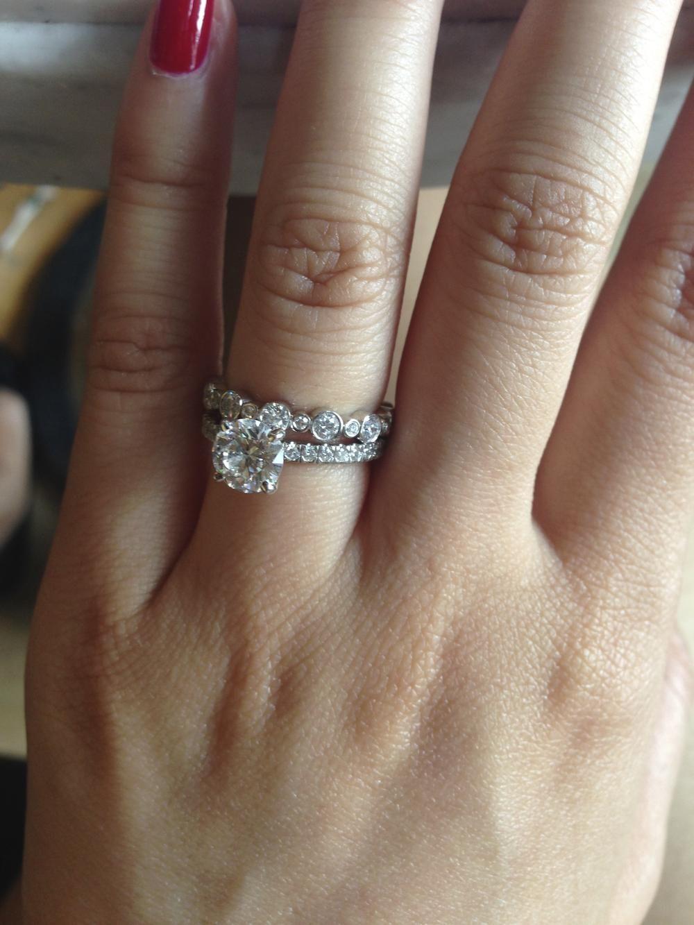 Tiffany wedding rings | Wedding Ideas | Pinterest ...