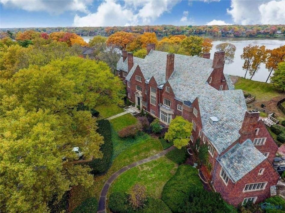 1927 The Ford Mansion For Sale In Perrysburg Ohio Mansions